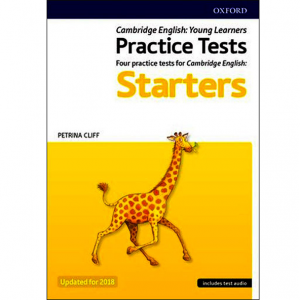Starters Practice Test Book cover page